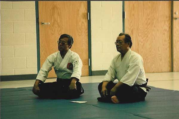 Saotome Sensei and Sakakibara Sensei