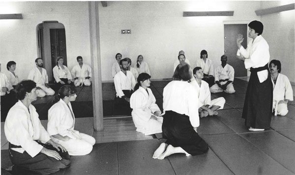 Ikeda Sensei Seminar at Asian Arts Center
