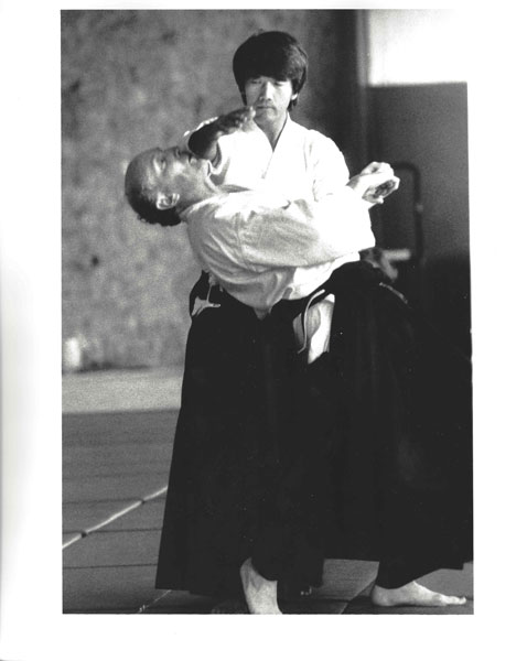 Ikeda Sensei at Fall Mountain Camp 1991